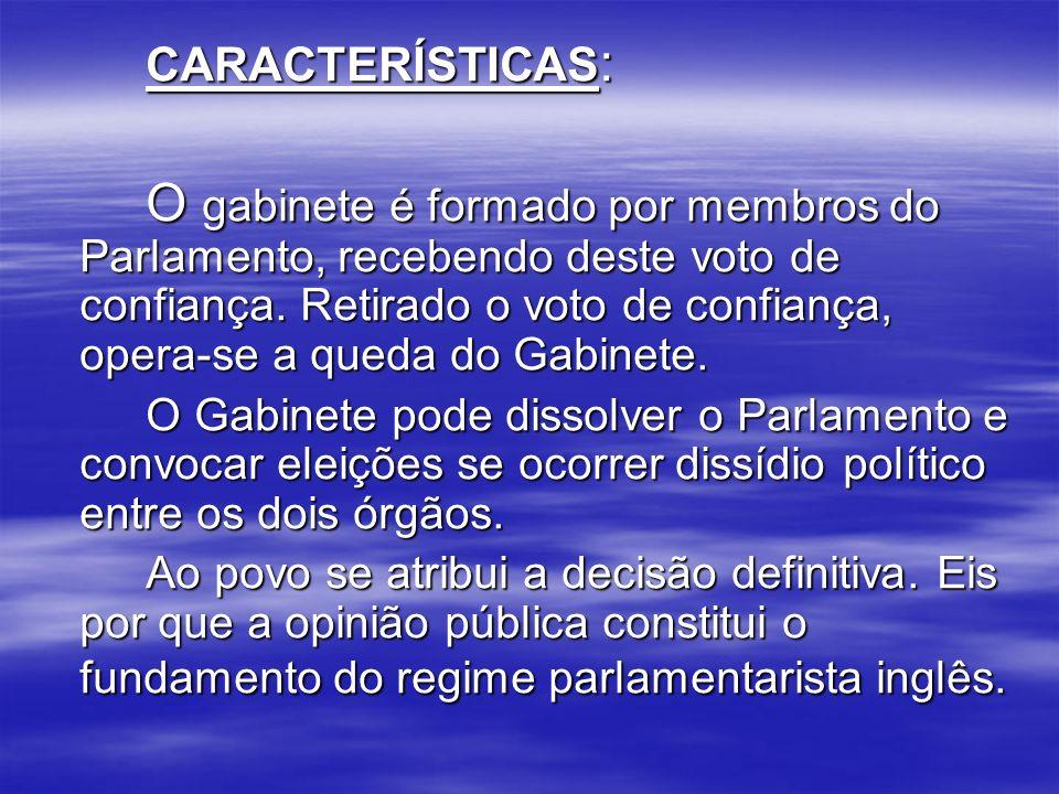PRESIDENCIALISMO CONCEITO: O presidencialismo é o regime de governo em que a Chefia de Estado (representação do Estado) e a Chefia de Governo (administração) são representadas num só órgão, o Presidente da República.