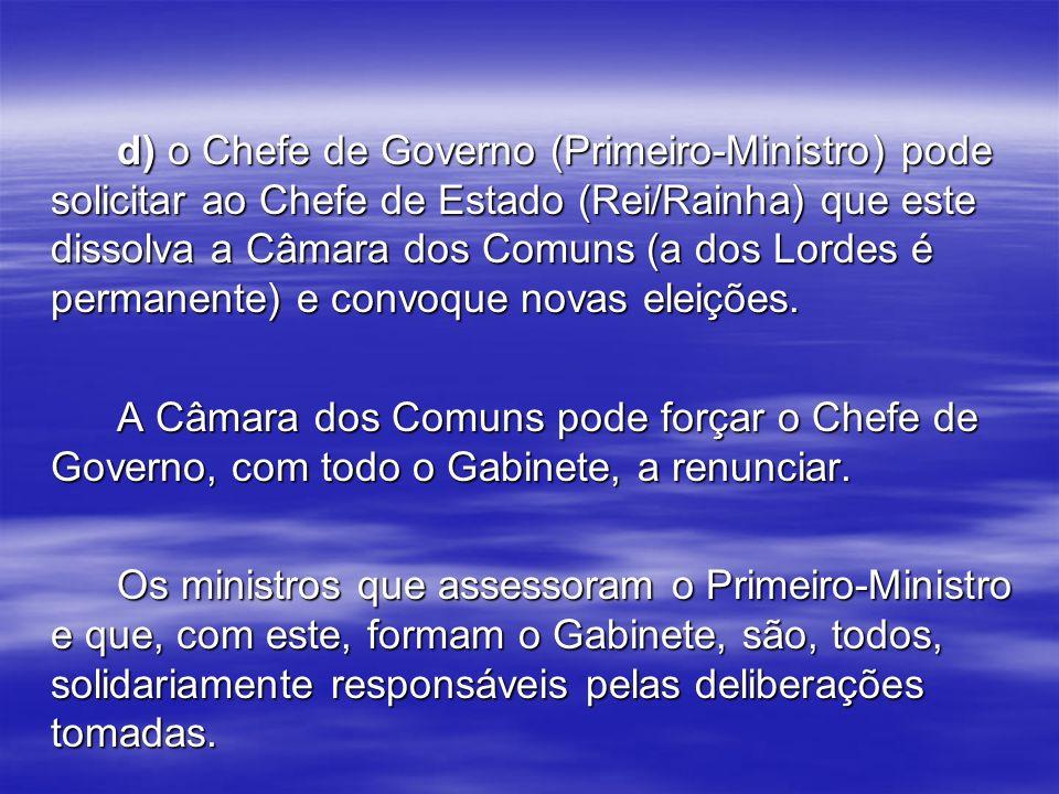 CARACTERÍSTICAS : O Poder Executivo no presidencialismo compete a um só órgão, no caso, o Presidente da República.