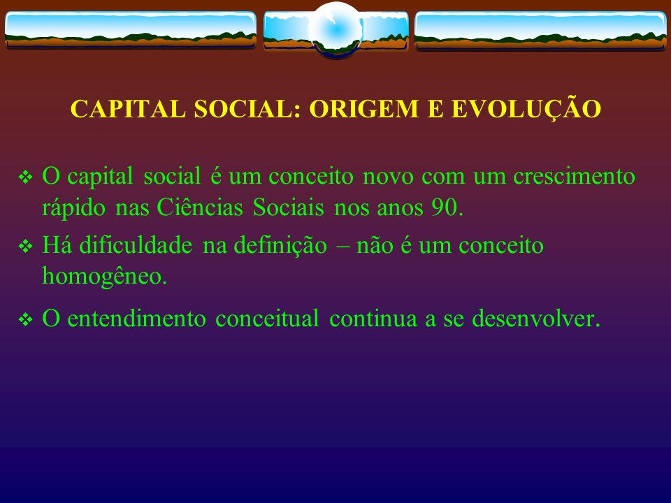 Capital Social Bridging State Market CivilSociety State Market http://gppop.dsu.nodak.edu/ppt/c/flora.ppt