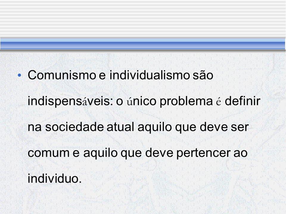 O individuo vem antes da sociedade? Ou A sociedade vem antes do individuo?