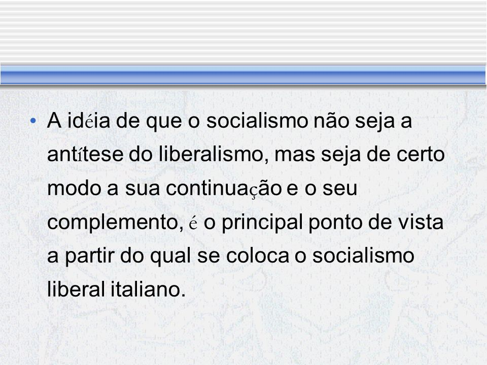 Comunismo e individualismo são indispens á veis: o ú nico problema é definir na sociedade atual aquilo que deve ser comum e aquilo que deve pertencer ao individuo.