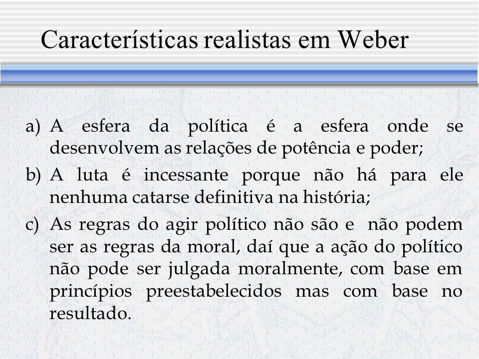 Max Weber, o poder e os clássicos Nenhum estudioso que tenha vivido no século XX contribuiu mais para o enriquecimento da linguagem política.