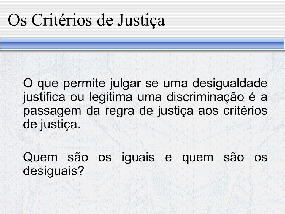 A Igualdade diante da Lei a) Preceito voltado para os juízes: a lei deve ser igual para todos.