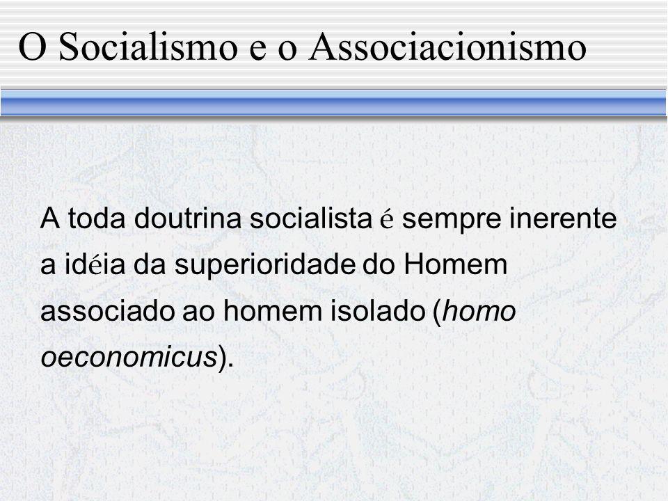 Retorno das sociedades Intermedi á rias Liberalismo Democr á tico Socialismo Cristianismo Social