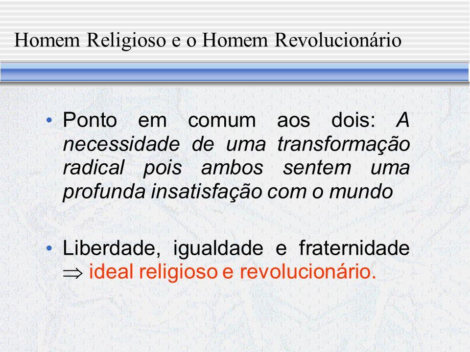 A ideologia do novo homem De acordo com Bobbio, existem dois modos de conceber quaisquer transformações na sociedade.