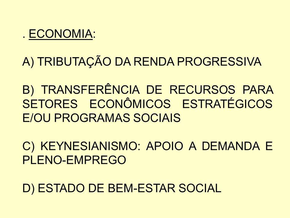 A POLÍTICA ECONÔMICA DA SOCIAL-DEMO- CRACIA ANTES DE 1930: NACIONALIZAÇÃO DA ECO- NOMIA.