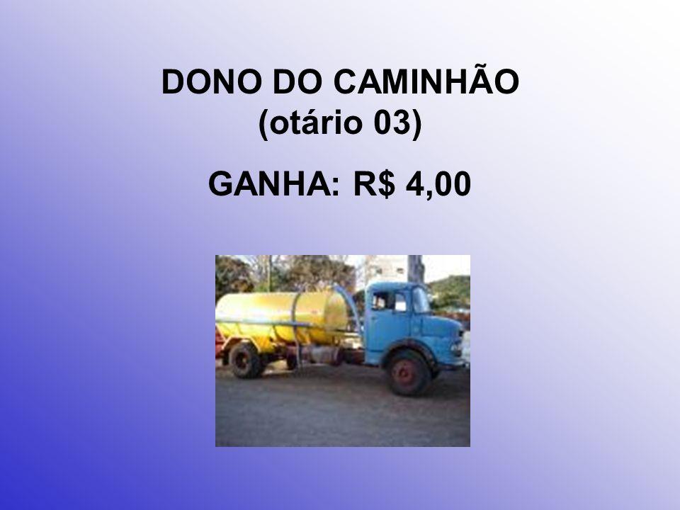 DONO DO POSTO (otário 02) GANHA: R$ 50,00