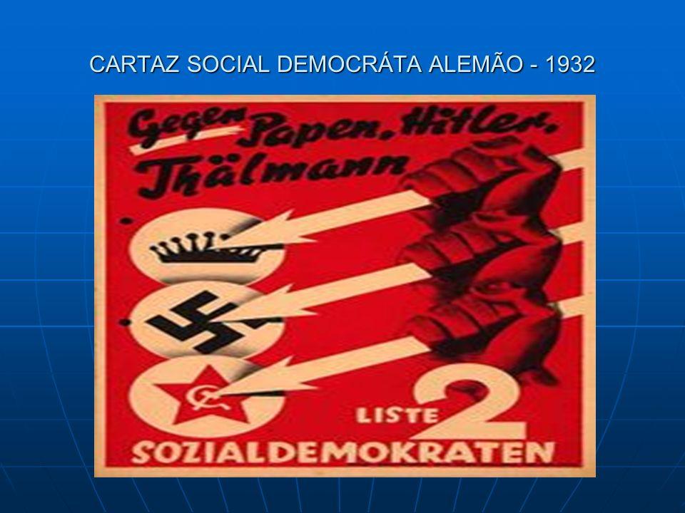 A Social Democracia segue os ideais de Karl Marx, sendo possível o estabelecimento do comunismo em alguns países, tendo uma revolução pacífica e democrática.