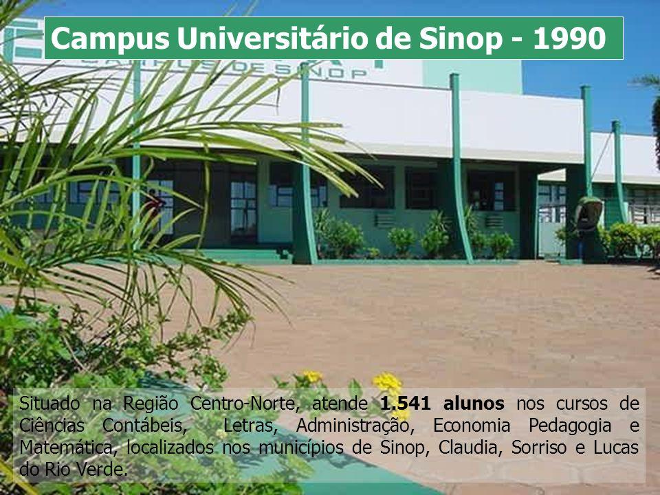 Situado na Região Centro-Norte, atende 1.541 alunos nos cursos de Ciências Contábeis, Letras, Administração, Economia Pedagogia e Matemática, localiza