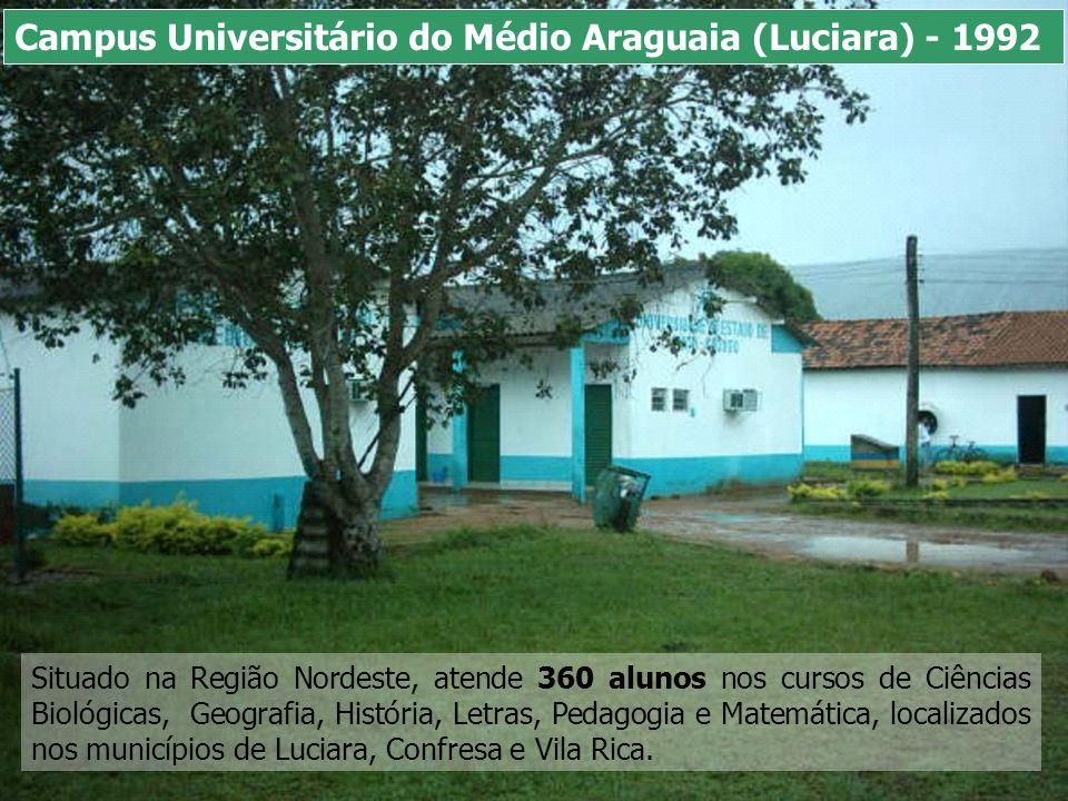 Situado na Região Sudoeste, atende 1.124 alunos nos cursos de Ciências Biológicas, Letras, Pedagogia, Matemática e Zootecnia, localizados nos municípios de Pontes e Lacerda, Araputanga, Comodoro e Jauru.