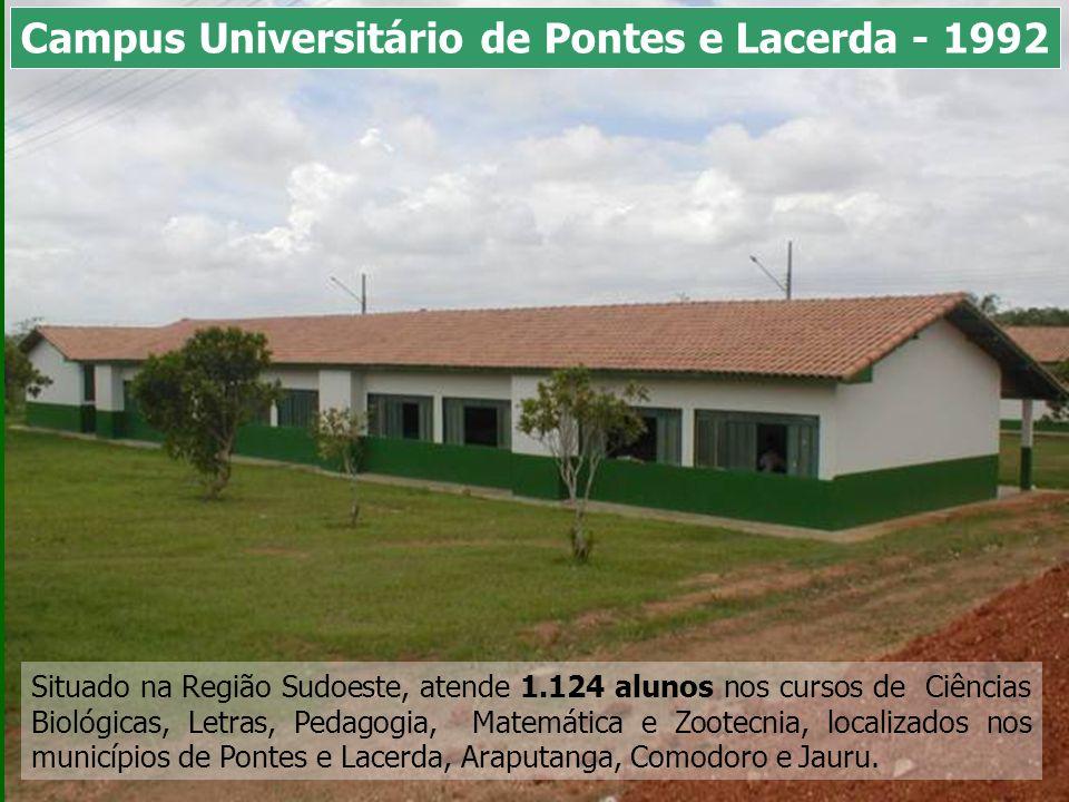 Situado na Região Sudoeste, atende 1.124 alunos nos cursos de Ciências Biológicas, Letras, Pedagogia, Matemática e Zootecnia, localizados nos municípi