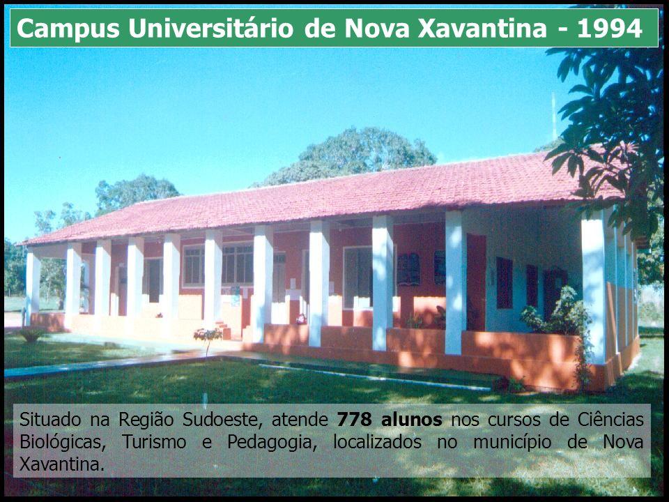 Situado na Região Sudoeste, atende 778 alunos nos cursos de Ciências Biológicas, Turismo e Pedagogia, localizados no município de Nova Xavantina. Camp