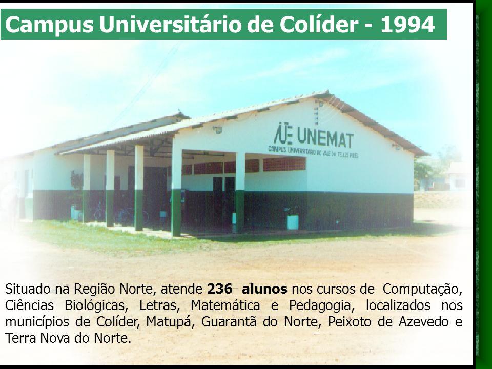 Situado na Região Norte, atende 236 alunos nos cursos de Computação, Ciências Biológicas, Letras, Matemática e Pedagogia, localizados nos municípios d