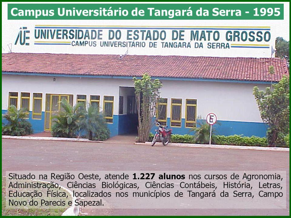 Situado na Região Oeste, atende 1.227 alunos nos cursos de Agronomia, Administração, Ciências Biológicas, Ciências Contábeis, História, Letras, Educaç