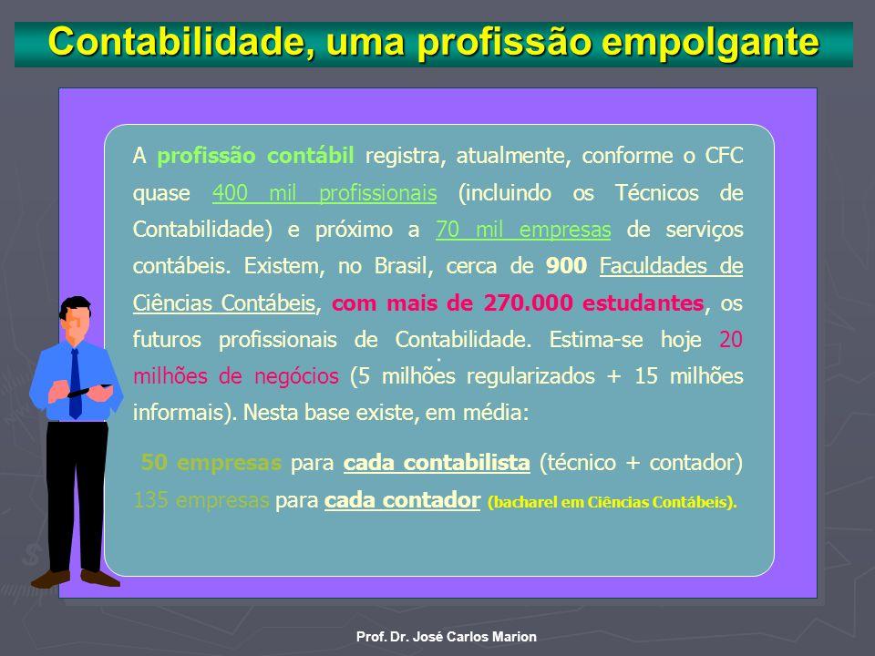 AC- 17 Prof. Dr. José Carlos Marion. Em artigo no Valor Econômico o autor diz que a figura do contador torna-se da vez mais vital e bem remunerada no