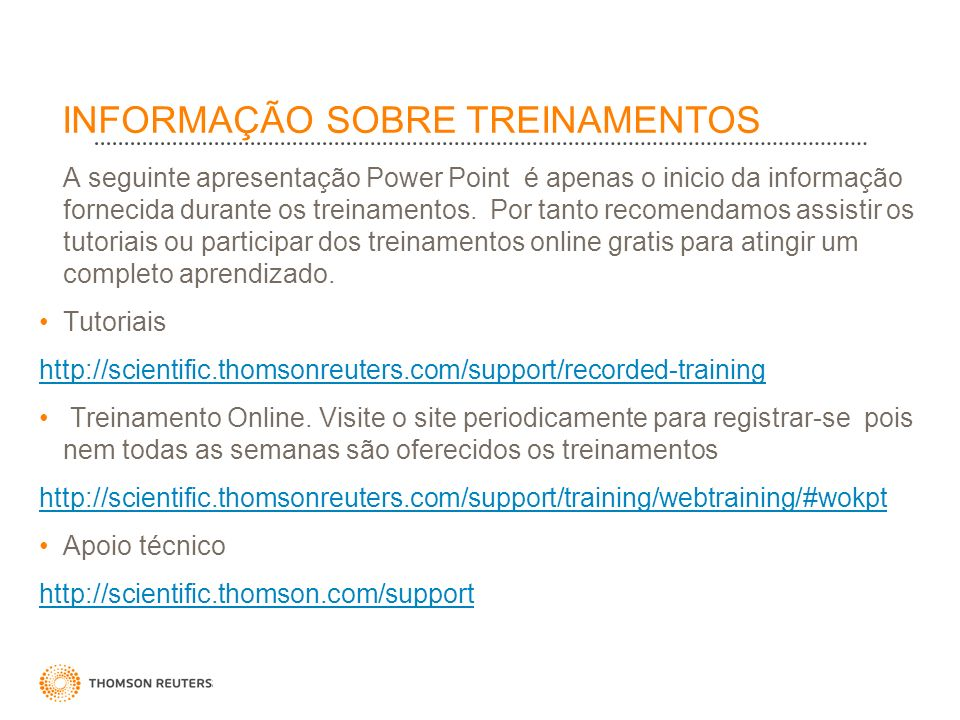 WEB OF SCIENCE Indice de citações na Web Multidisciplinar Indexa aprox.