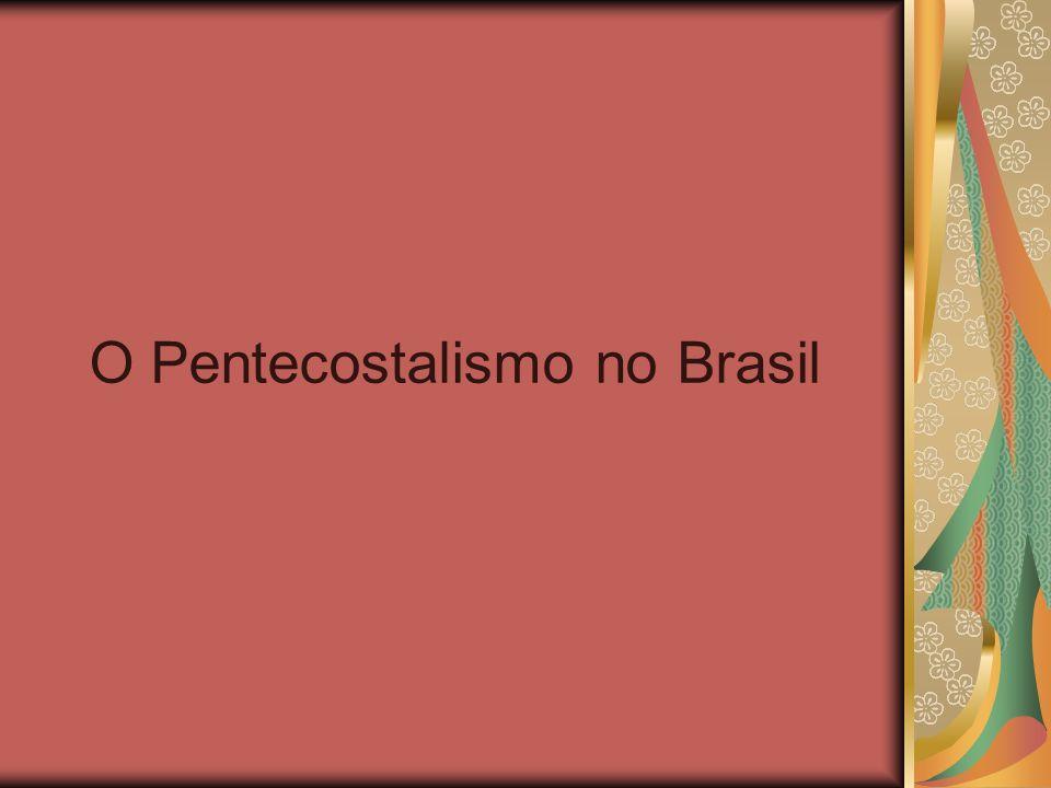 Introdução O movimento pentecostal chegou cedo à América Latina: - 1909 – Chile - 1910 – Brasil Inicialmente cresceu pouco.