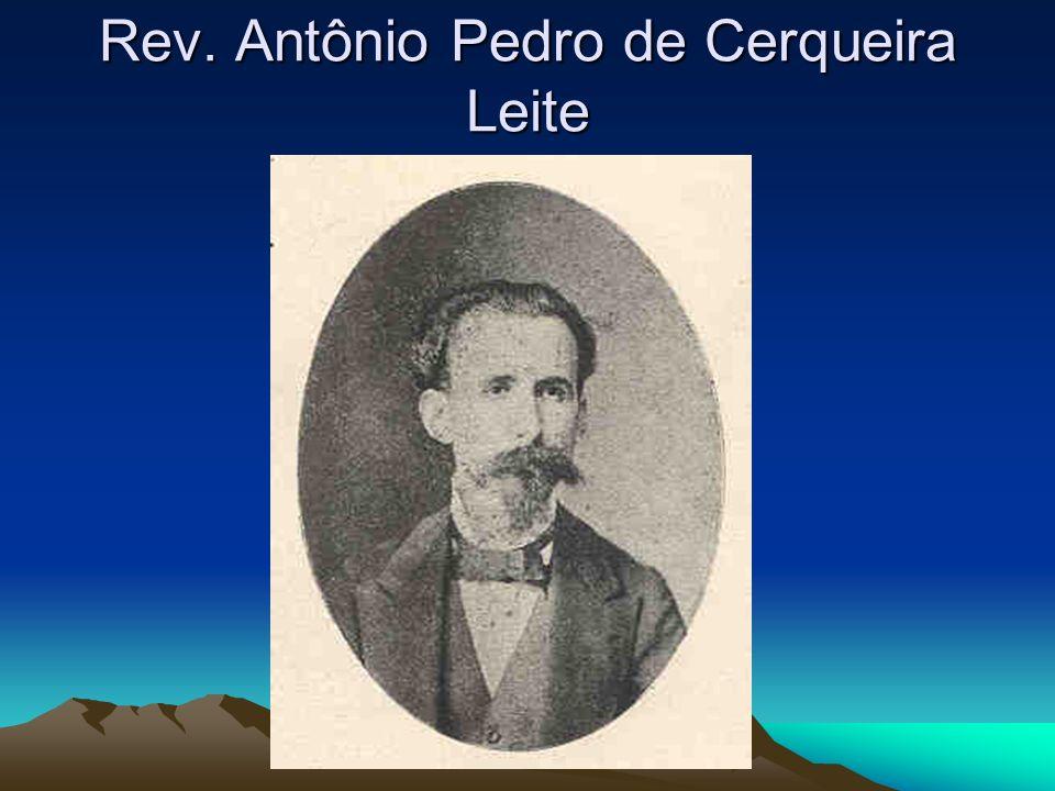 Rev. Antônio Pedro de Cerqueira Leite