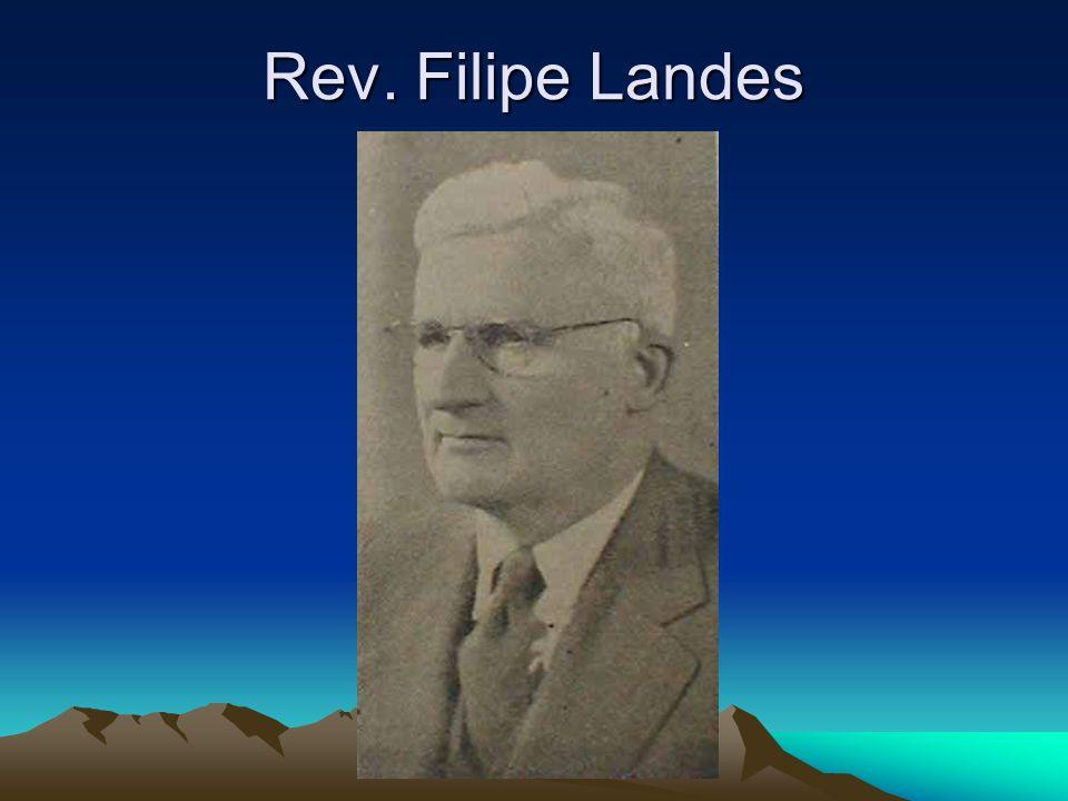Rev. Filipe Landes