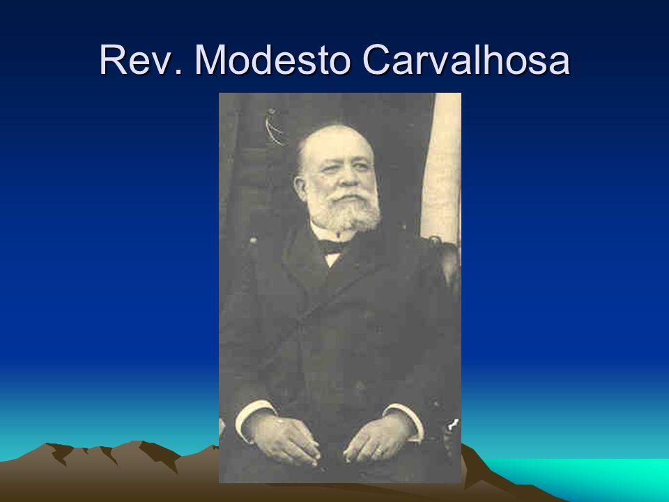 Rev. Modesto Carvalhosa