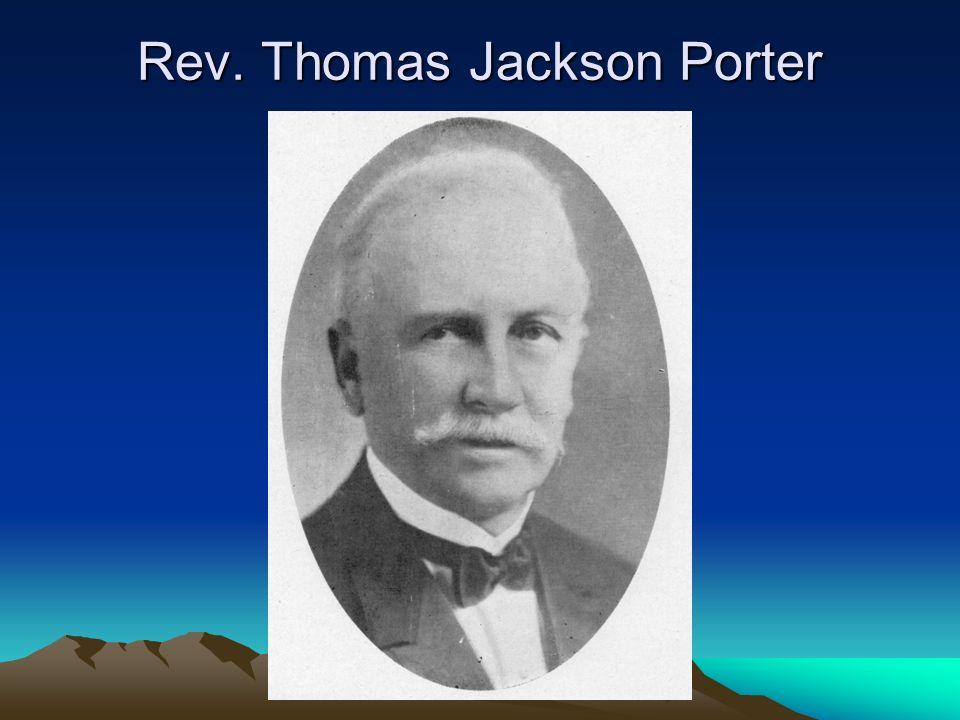 Rev. Thomas Jackson Porter