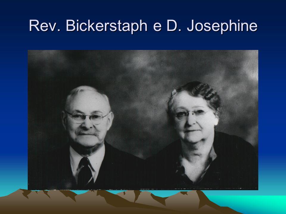 Rev. Bickerstaph e D. Josephine