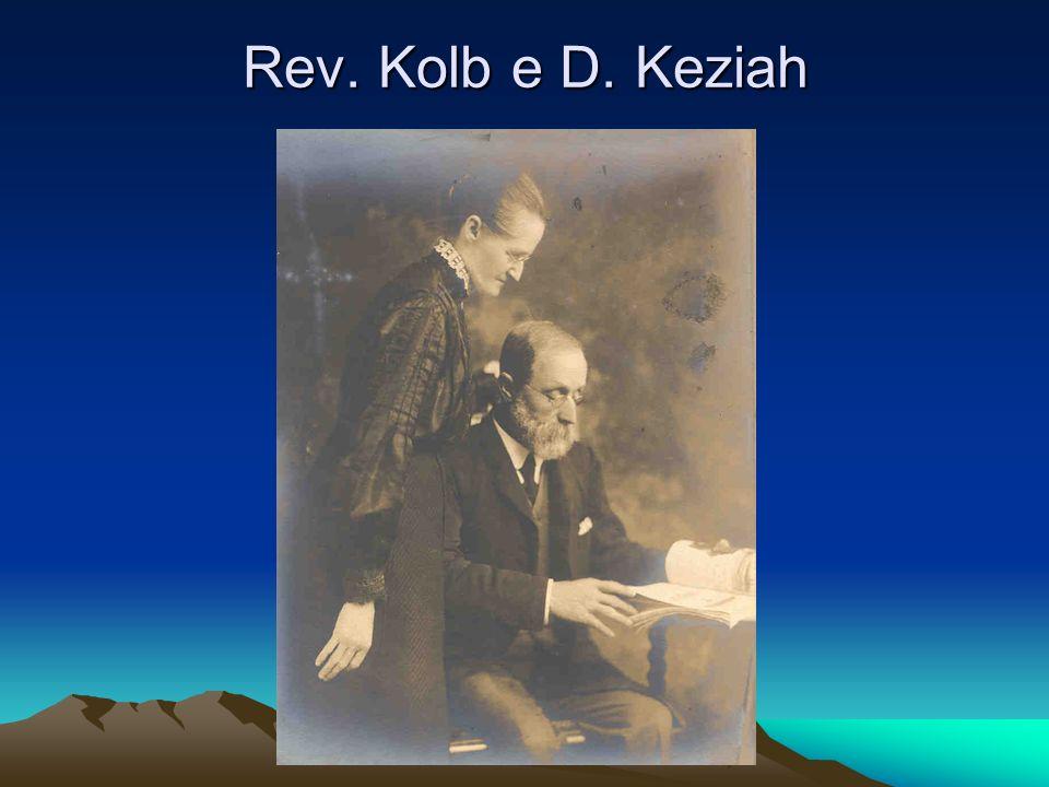Rev. Kolb e D. Keziah