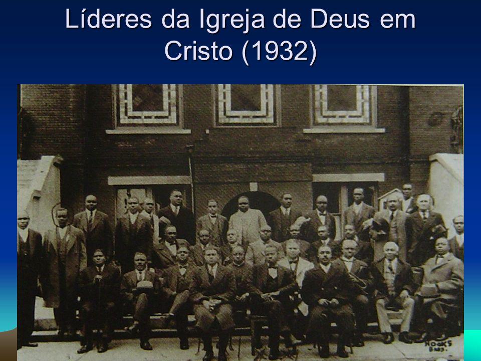 Líderes da Igreja de Deus em Cristo (1932)