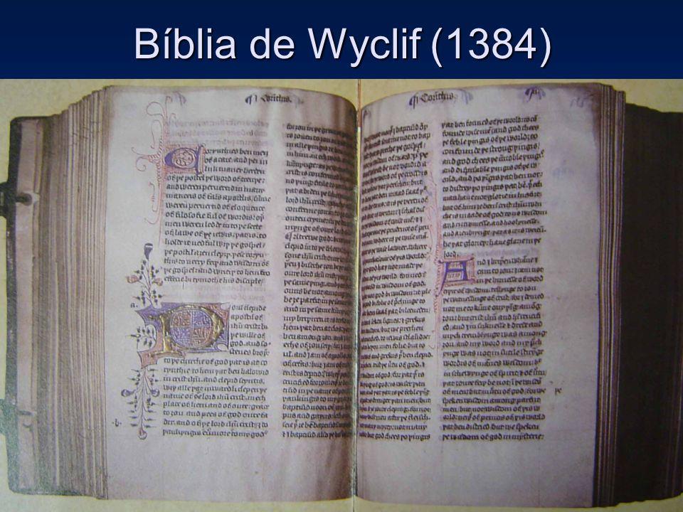 Bíblia de Wyclif (1384)