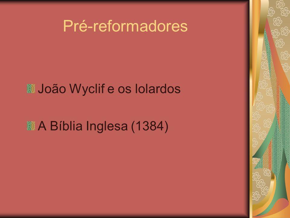 Assinaturas dos Reformadores