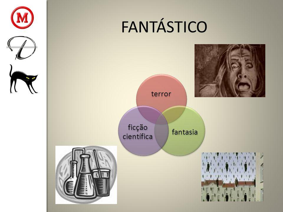 terror fantasia ficção científica FANTÁSTICO