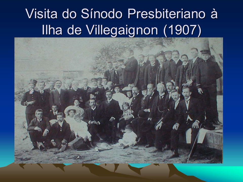 Visita do Sínodo Presbiteriano à Ilha de Villegaignon (1907)