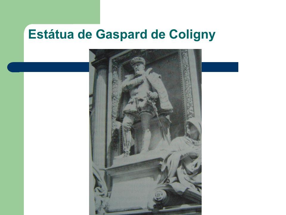 Estátua de Gaspard de Coligny