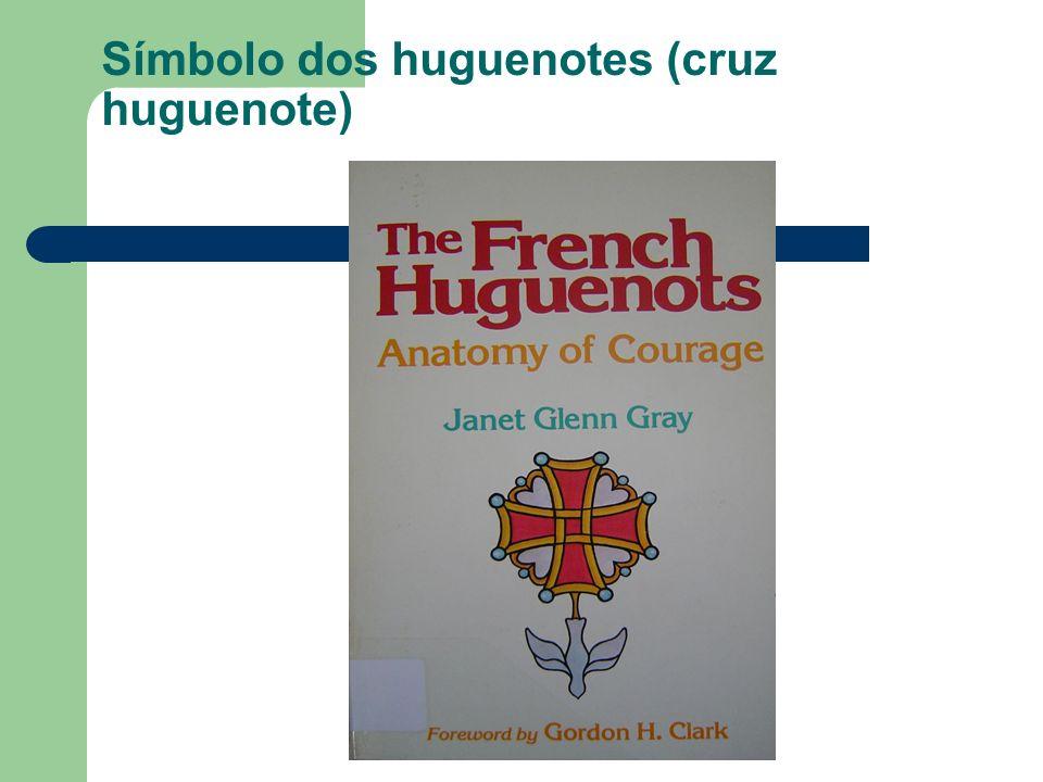 Símbolo dos huguenotes (cruz huguenote)