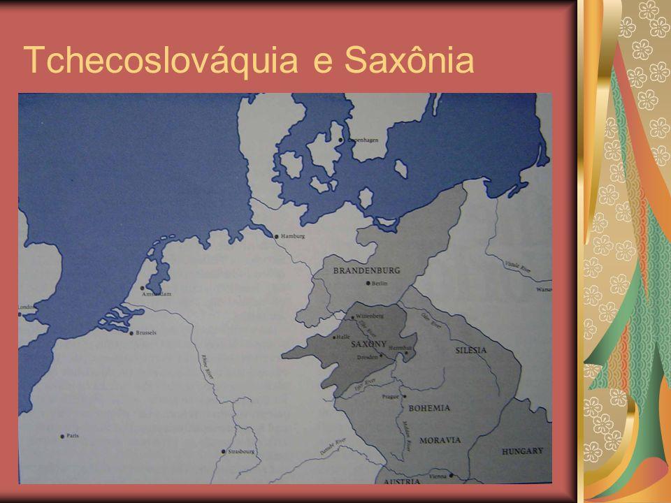 Tchecoslováquia e Saxônia