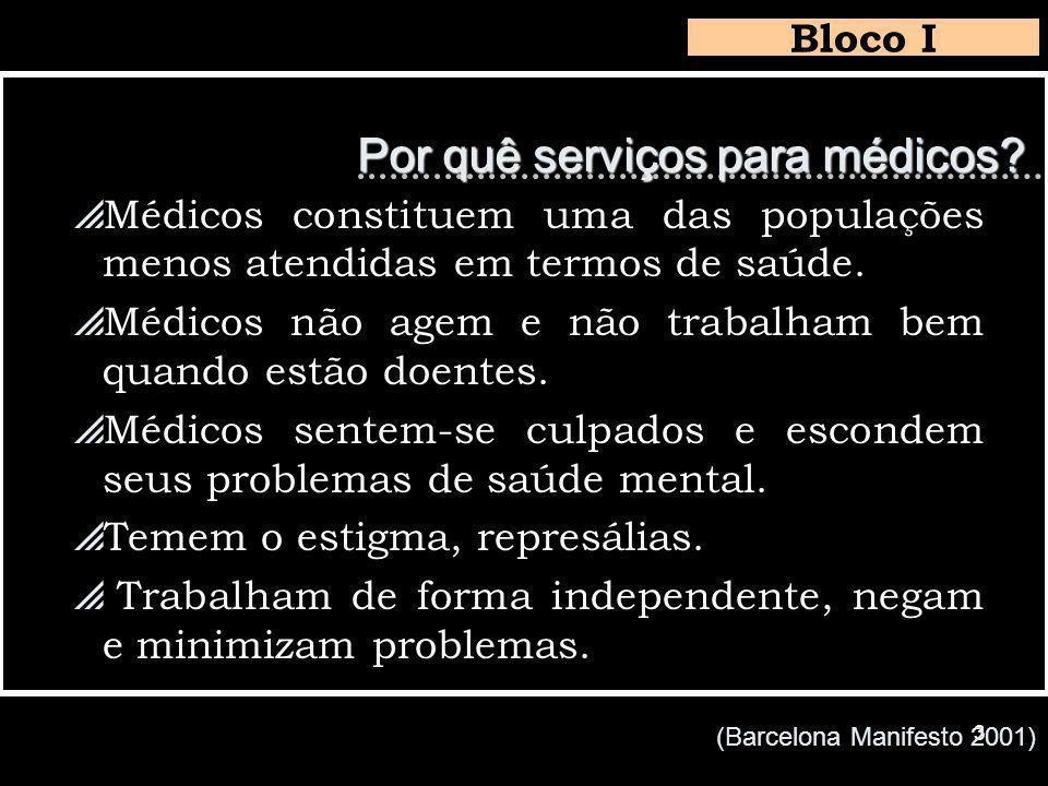 3 Por quê serviços para médicos.