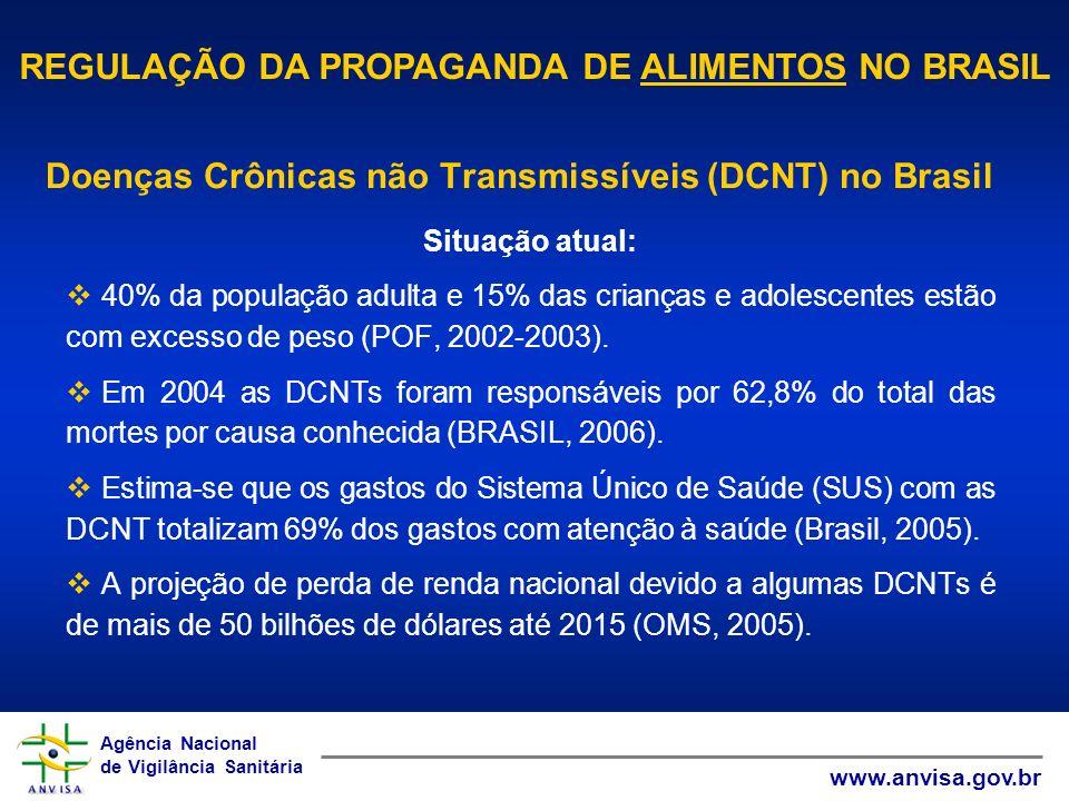 Agência Nacional de Vigilância Sanitária www.anvisa.gov.br Agência Nacional de Vigilância Sanitária www.anvisa.gov.br Fonte: Ministério da Saúde/SVS/DASIS, 2004 *Cid 10.