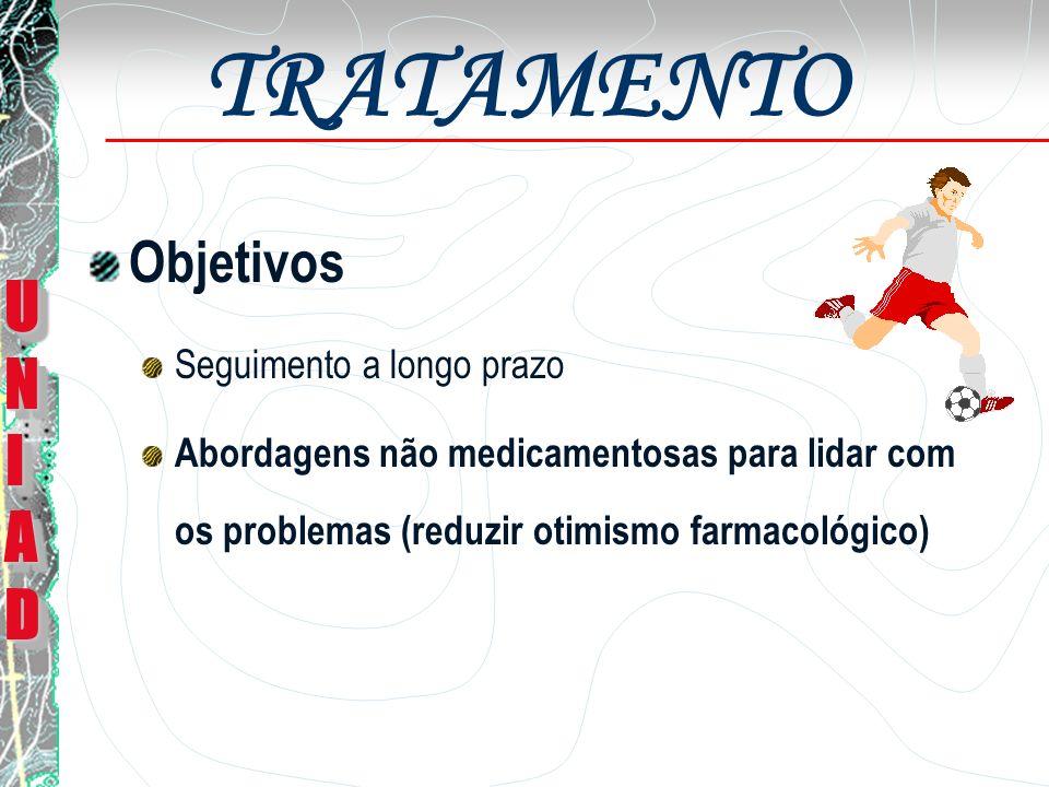 TRATAMENTO Peças Chaves para o Sucesso Duração do tratamento Programas de Tratamentos para Médicos Envolvimento Familiar UNIADUNIADUNIADUNIAD UNIADUNIADUNIADUNIAD