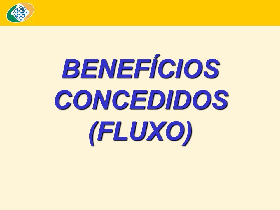 BENEFÍCIOS CONCEDIDOS (FLUXO)