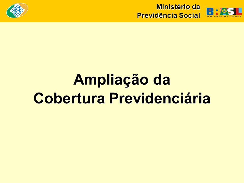 Ampliação da Cobertura Previdenciária