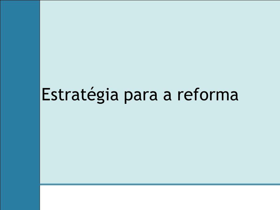 Estratégia para a reforma