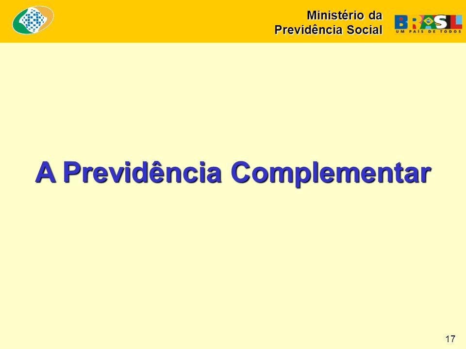 369 entidades fechadas de previdência complementar.