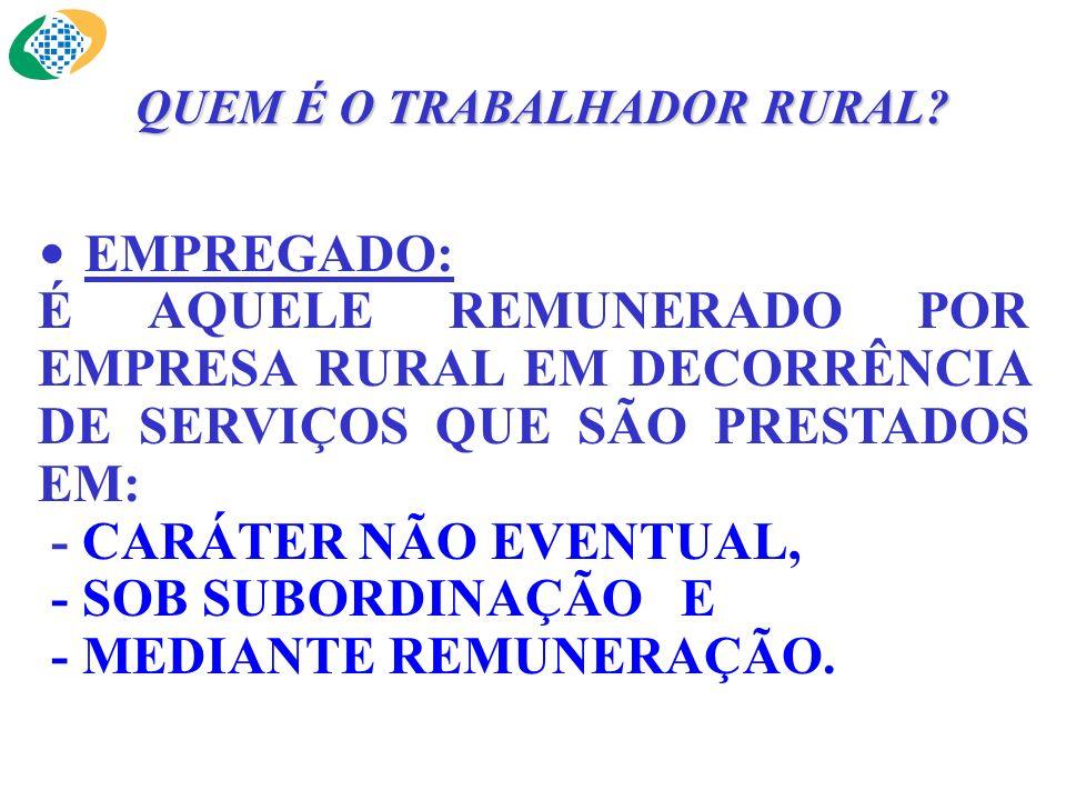 TRABALHADOR AVULSO: PRESTA SERVIÇO DE NATUREZA RURAL A DIVERSAS EMPRESAS, SEM VÍNCULO EMPREGATÍCIO, COM INTERMEDIAÇÃO OBRIGATÓRIA DO ÓRGÃO GESTOR DE MÃO-DE-OBRA.