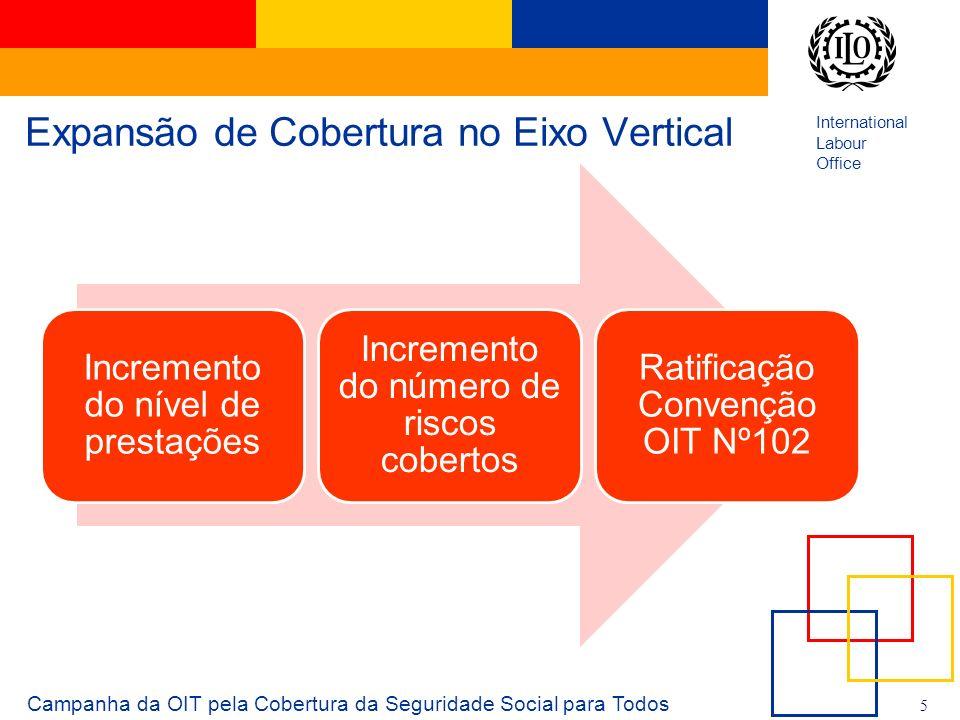 International Labour Office 6 O que é o Piso de Proteção Social.