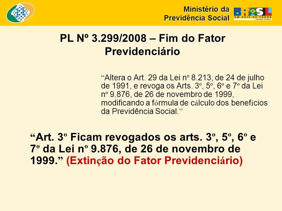 Altera o Art. 29 da Lei n º 8.213, de 24 de julho de 1991, e revoga os Arts.