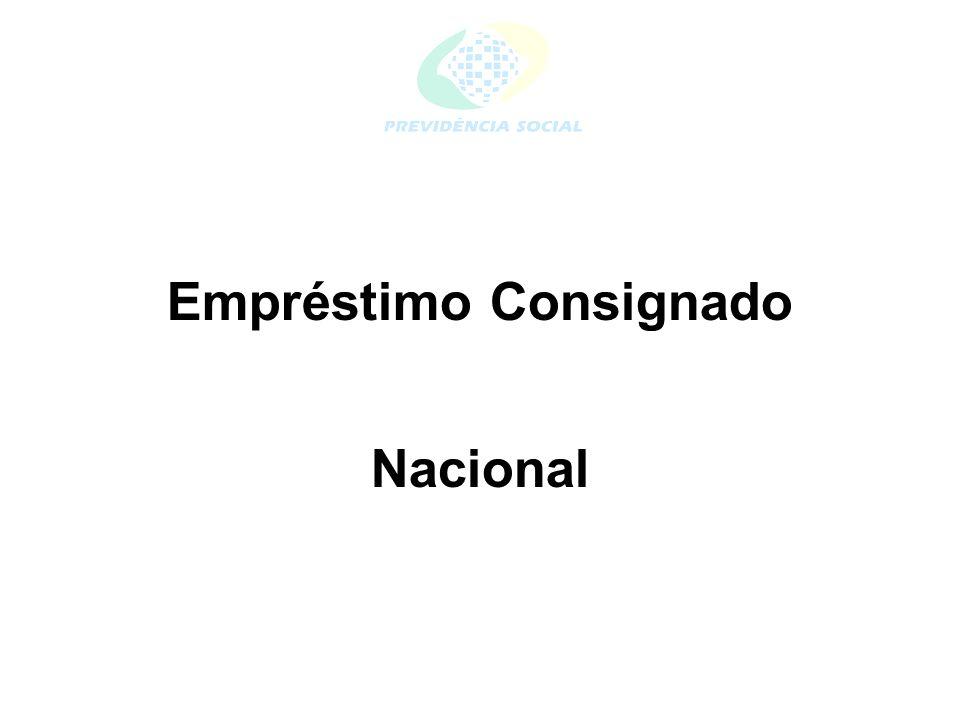 Empréstimo Consignado Nacional