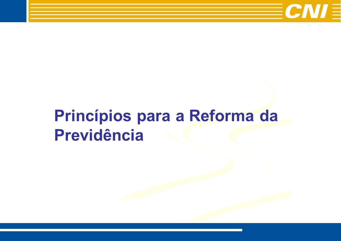 Princípios para a Reforma da Previdência