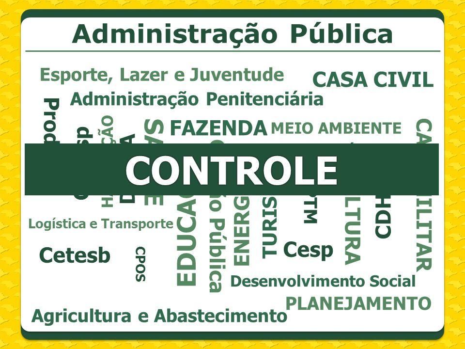 Finalidades do Sistema Estadual de Controladoria: Promover princípios Avaliar e fiscalizar programas Estimular controle preventivo Incentivar pesquisa e capacitação