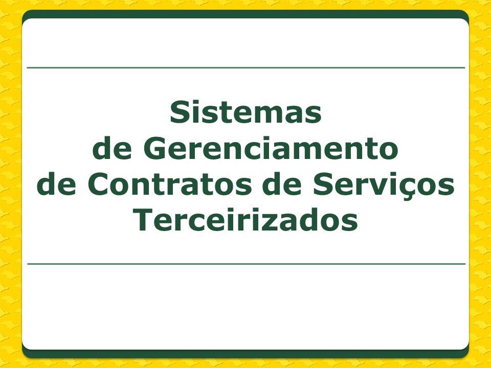 Sistemas de Gerenciamento de Contratos de Serviços Terceirizados