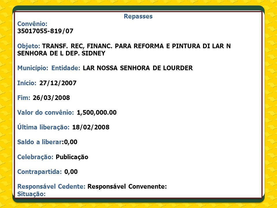 Tribunal de Contas do Estado – Contas Municipais http://www4.tce.sp.gov.br/resultados?quicktabs_contasgov=2#quicktabs-contasgov